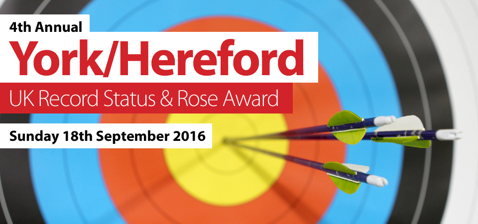 4th Annual York/Hereford UK Record Status and Rose Award - Sunday 18th September 2016