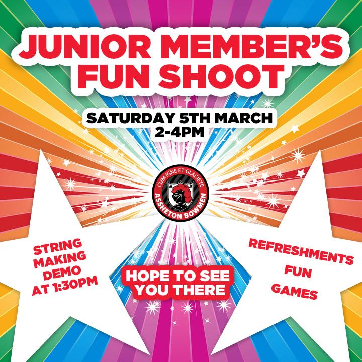 Junior Member's Fun Shoot - Saturday 5th March