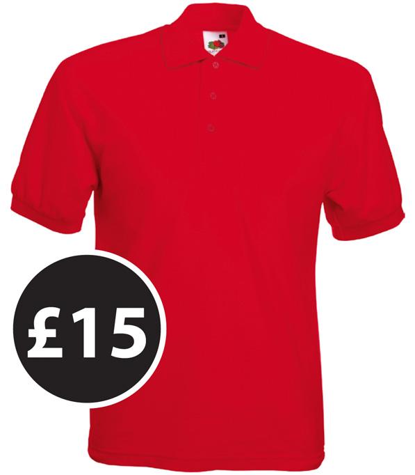Club Clothing - Polo Shirts £15