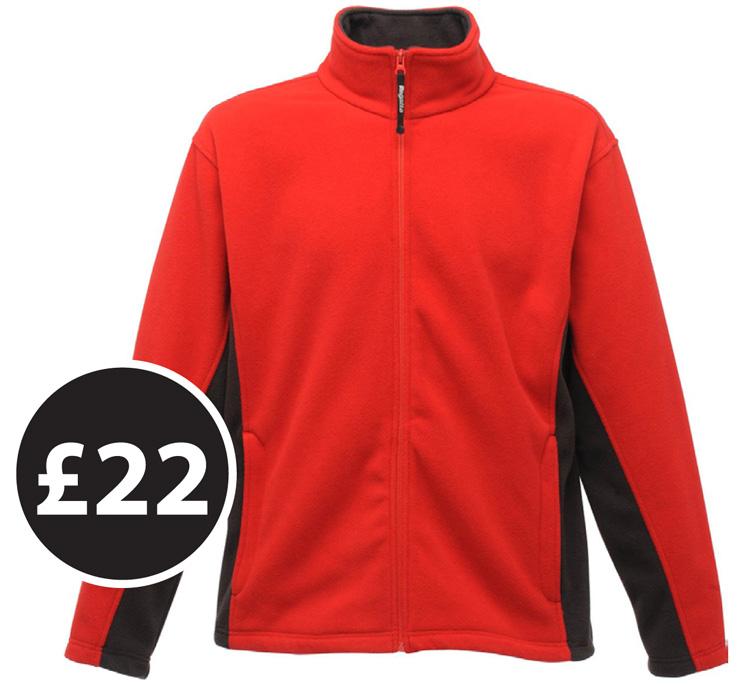 Club Clothing - Regatta Energise II Fleece £22