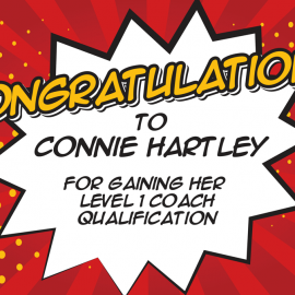 Connie Hartley – Congratulations