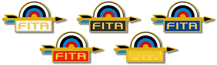 FITA Arrows award badges