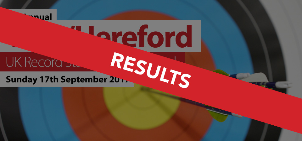 5th Annual York/Hereford - Sunday 17th September 2017 - RESULTS