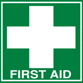 Anyone need first aid?