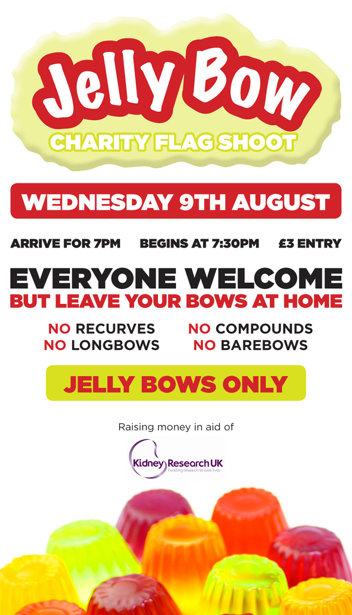Jelly Bow Charity Flag Shoot - Wednesday 9th August 2017